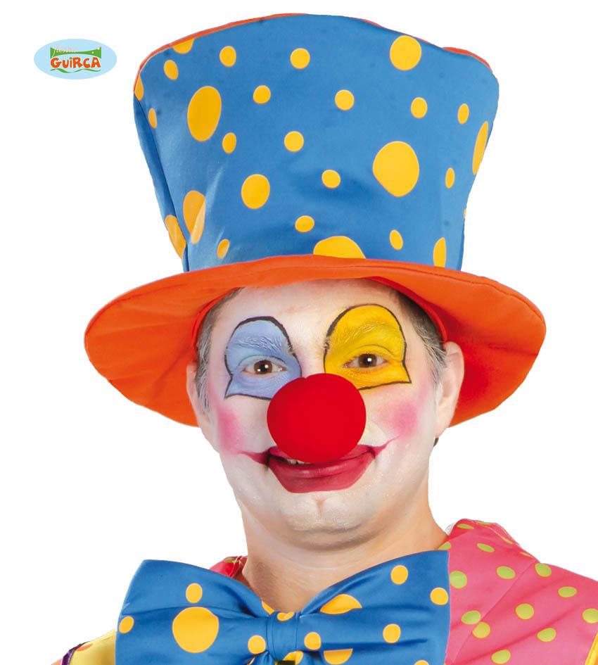 Clownshut Orange Blau Lustig Hut Clown Erwachsene Kostum Online