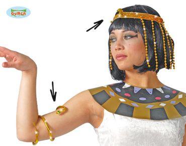 Kleopatra Schmuck Set für Damen