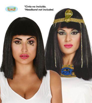schwarze Kleopatra Perücke