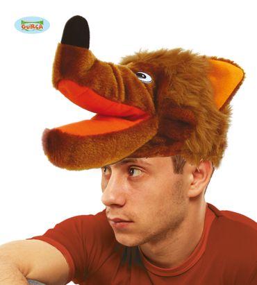 Wolfsmütze Kappe Tiermütze