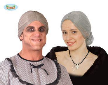 graue Großmutter Kurzhaar Perücke für Damen
