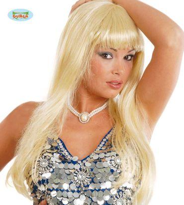 Sexy blonde Damen Perücke
