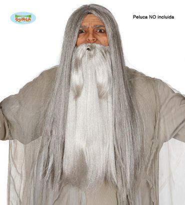 grauer Bart für Zauberer