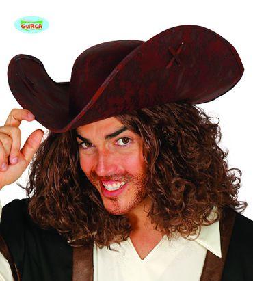 Deluxe Piraten Hut für Erwachsene