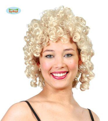 blonde Glamour Locken Perücke für Damen