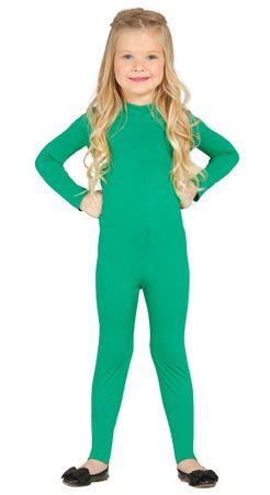 grüner Ganzkörper Anzug für Kinder Gr. 110 - 146