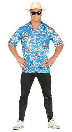 buntes Hawaii Hemd für Herren Gr. M/L