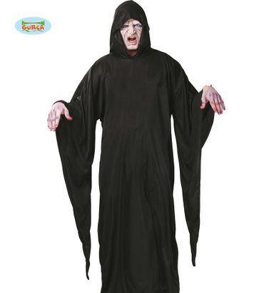 schwarze Horror Robe für Erwachsene