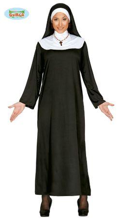 Nonne Kostüm für Damen Gr. M - L