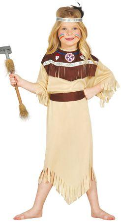Indianerin Squaw - Kostüm für Mädchen Gr. 98 - 146