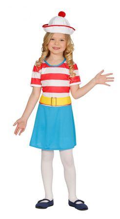 Matrosin - Kostüm für Mädchen Gr. 110 - 146