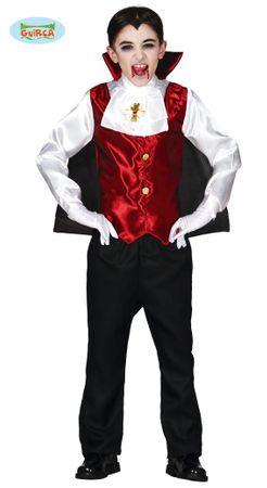 Dracula Kostüm für Kinder Gr. 110-146