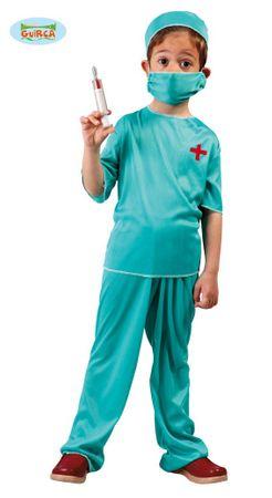Chirurg Kostüm für Kinder Gr. 110-146
