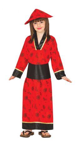 Chinesin Kostüm für Mädchen