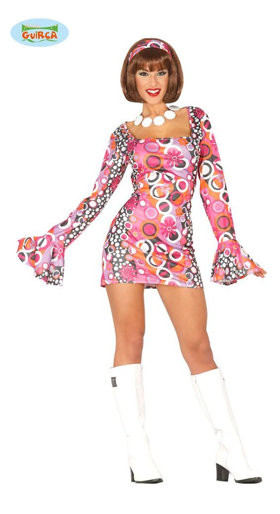 Sexy Kurzes Hippie Kleid Fur Damen Gr M L Kostum Online Shop