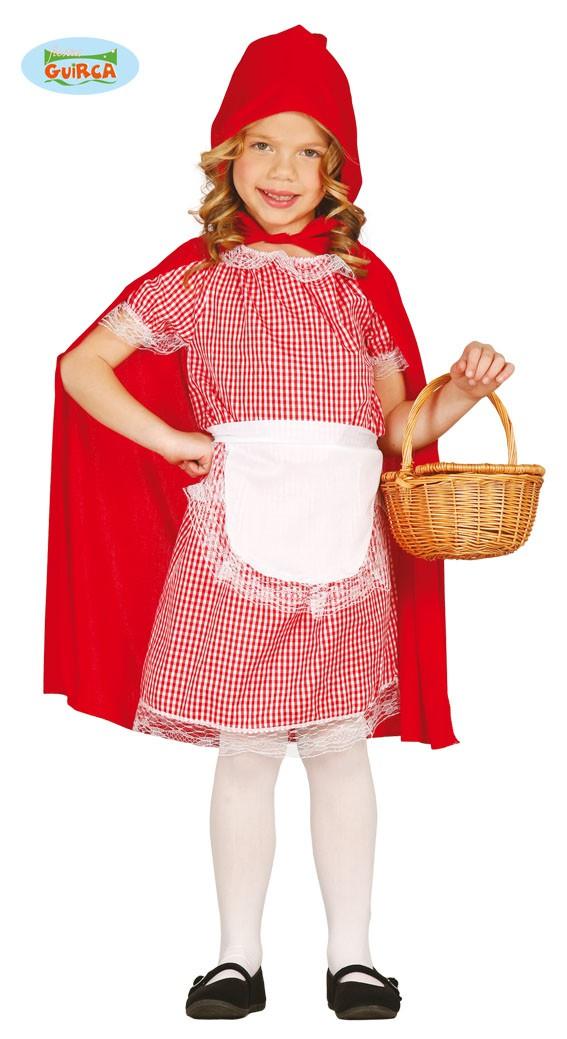 Rotkappchen Kostum Fur Madchen Gr 110 146 Kostum Online Shop
