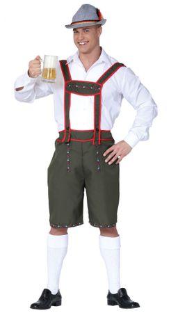 Tiroler Lederhose - Kostüm für Herren Gr. M - L