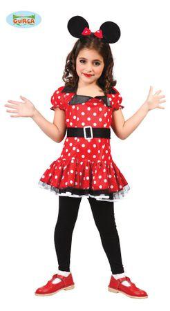 süße Comic Maus - Kostüm für Mädchen Gr. 98 - 146