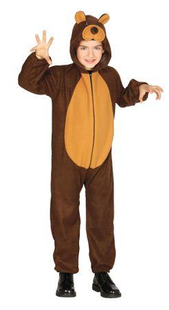 Teddybär Kostüm für Kinder Gr. 98-134