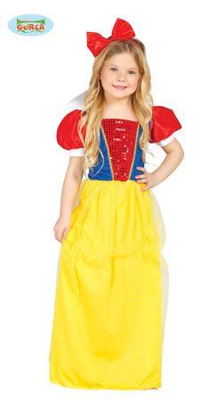 Schneewittchen - Kostüm für Mädchen Gr. 110 - 146
