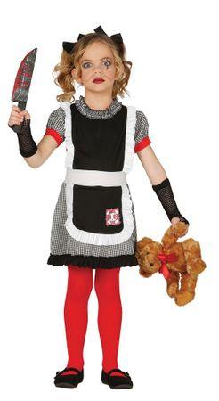 Mörder Puppe - Kostüm für Mädchen Gr. 98 - 134