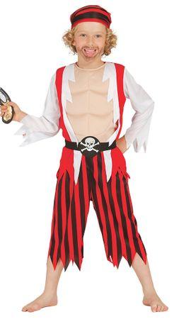 Pirat Freibeuter - Kostüm für Kinder Gr. 110 - 146
