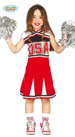 süßes Cheerleader Kostüm für Mädchen