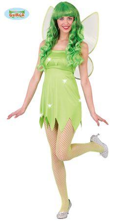 sexy grüne Fee - Kostüm für Damen Gr. S - M
