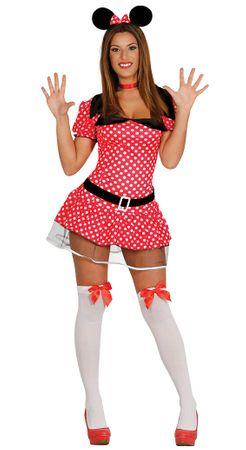 Comic Maus - Kostüm für Damen Gr. M - L