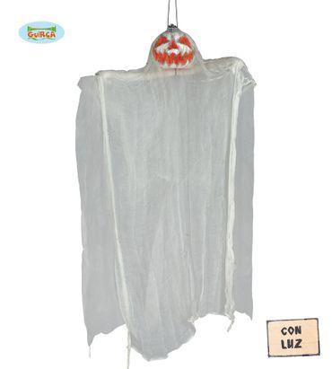 Geister Kürbis zum Aufhängen ca. 105 cm