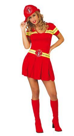 sexy Feuerwehr Frau - Kostüm für Damen Gr. S-L