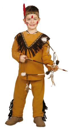 Indianer Kostüm für Jungen Gr. 110-146