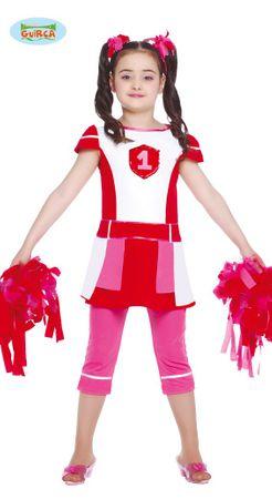 Cheerleader - Kostüm für Mädchen Gr. 110 - 146