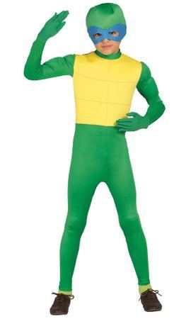 Ninja Schildkröte - Kostüm für Kinder Gr. 98 - 146