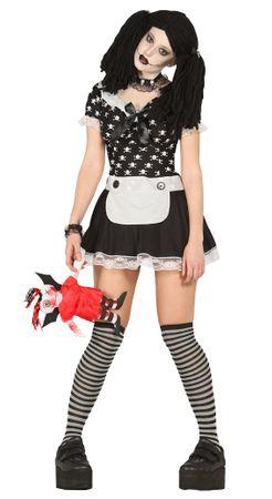 teuflische Killer Puppe Kostüm für Damen Gr. M/L