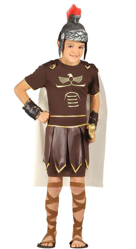 JUNGEN RÖMISCHER GENERAL KOSTÜM Halloween Fasching Verkleidung Kinder Geburtstag