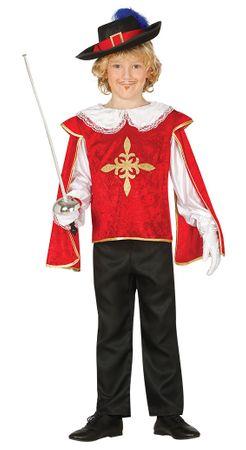 edler Musketeer - Kostüm für Kinder Gr. 98 - 134