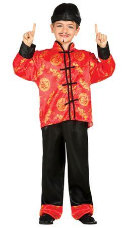 Chinese Japaner Kostüm für Kinder Gr. 98 - 134