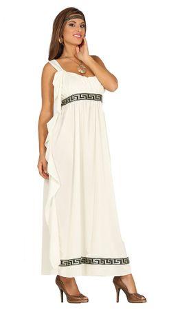 Olympische Göttin Kleid zum Griechen Kostüm für Damen M - L