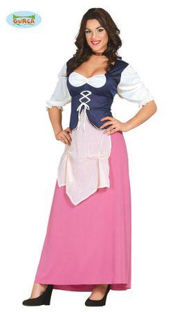 sexy Wirtin Mittelalter Kostüm für Damen Gr. M/L