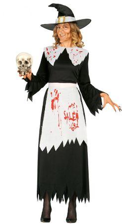 blutige Hexe Kostüm für Damen Gr. M/L