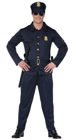 Polizist - Kostüm für Erwachsene Gr. M-XL