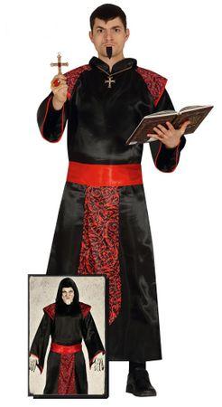 gruseliger Inquisitor Richter Kostüm für Herren Gr. M/L