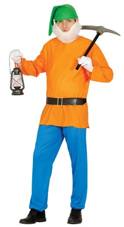 Zwerg - Kostüm für Herren Gr. M/L