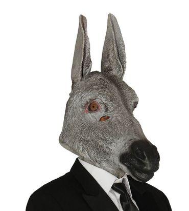 Esel Maske aus Latex für Erwachsene