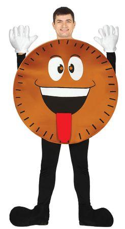 Keks Kostüm für Erwachsene Gr. M/L
