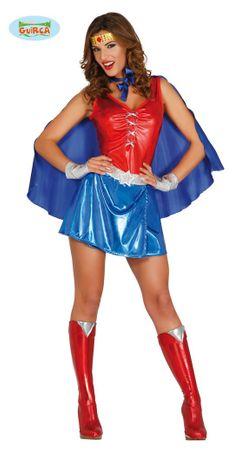 sexy Power Woman - Kostüm für Damen Gr. S/M