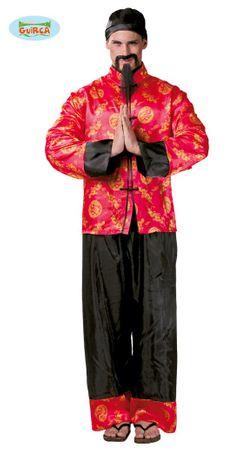 Mandarin Chinese - Kostüm für Herren Gr. M/L