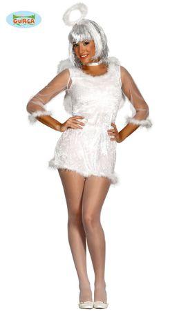 sexy Engel mit Flügel Kostüm für Damen Gr. M/L