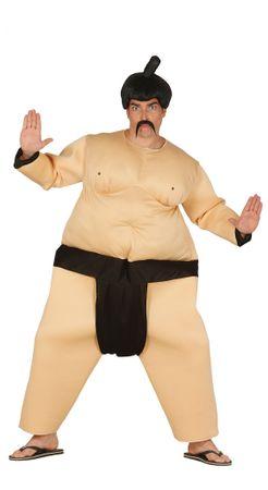 Sumoringer Kämpfer Kostüm für Herren Wrestler Ringer